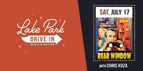Lake Park Drive-In: Rear Window with Chris Koza tickets