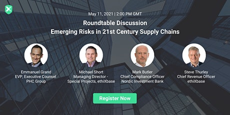 Roundtable Discussion: Emerging Risks in 21st Century Supply Chains tickets