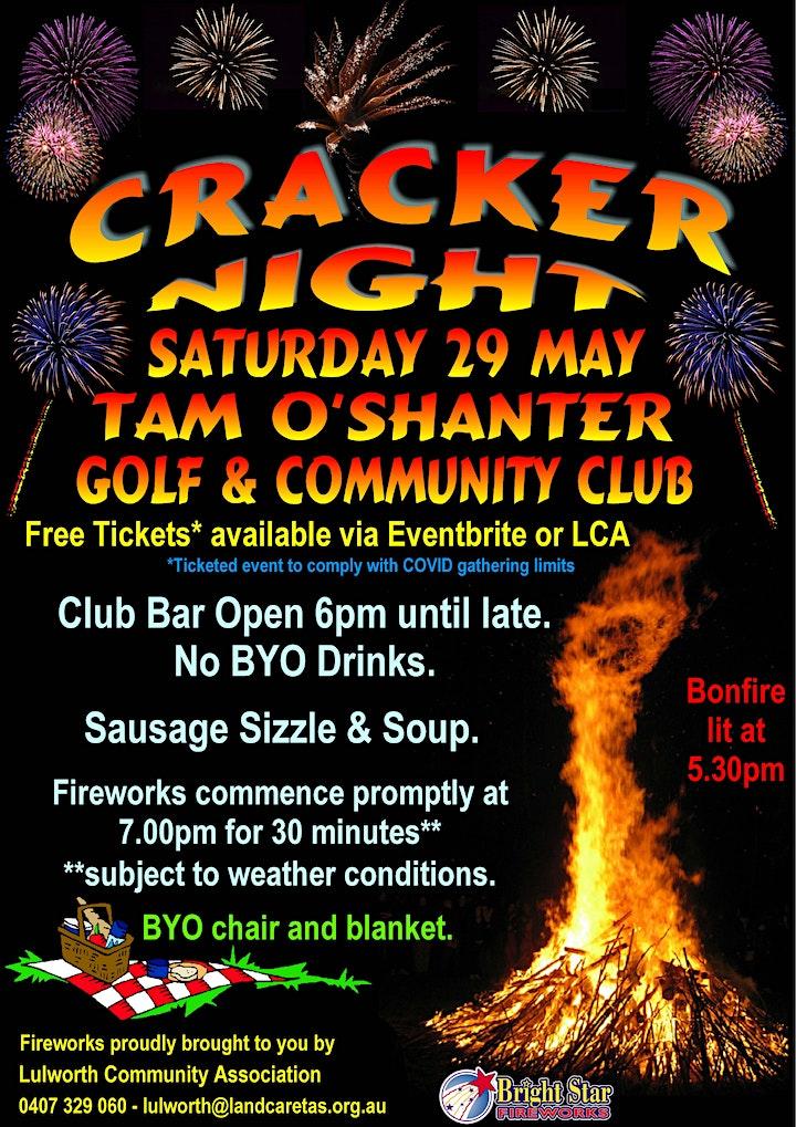 Lulworth Cracker Night image