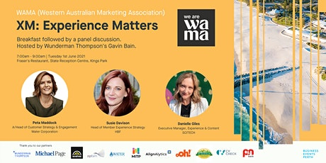 We Are WAMA - Experience Matters - Breakfast Panel Discussion tickets