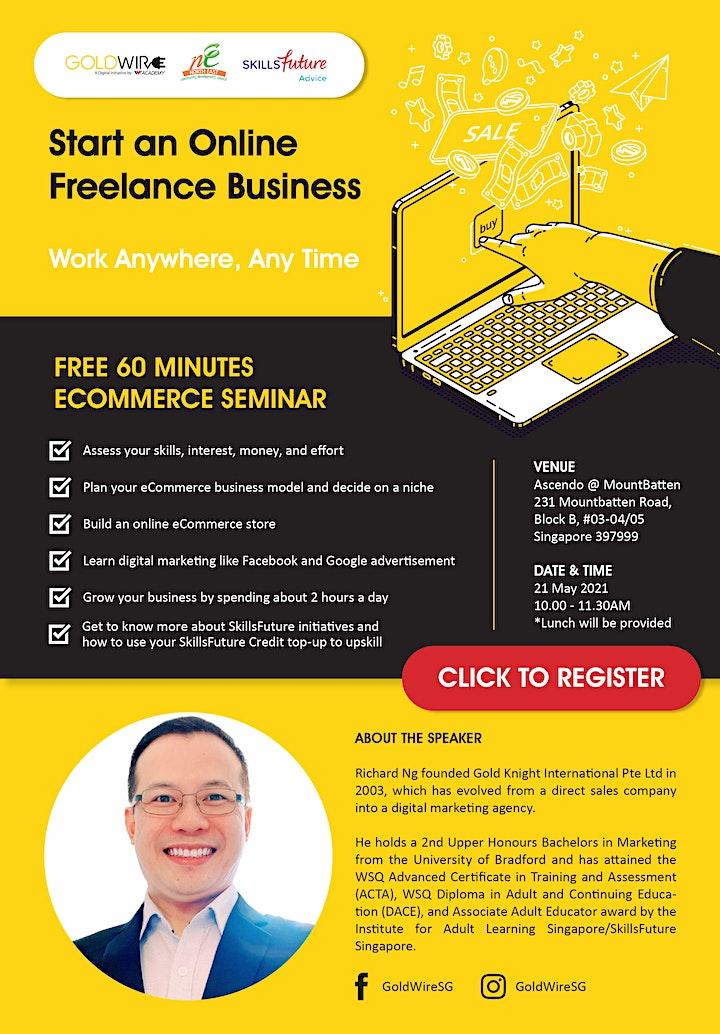 FREE 60 Minutes Ecommerce Seminar image
