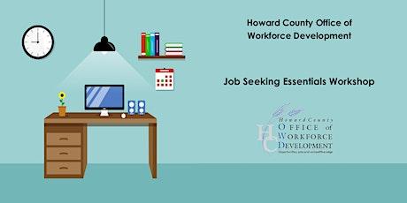Job Seeking Essentials Workshop tickets