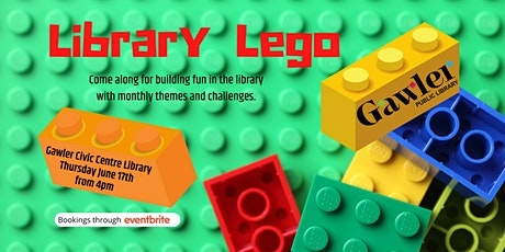 Library Lego tickets