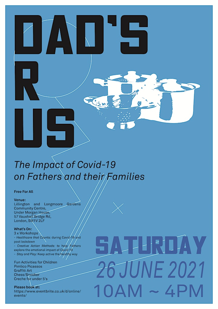Dad's R Us - The Impact of Covid-19 on Fathers and their Families image