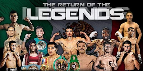 THE RETUR OF THE LEGENDS tickets