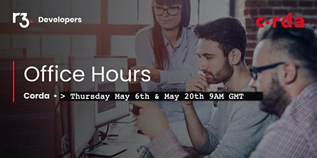 R3 Corda Office Hours - EMEA/APAC tickets