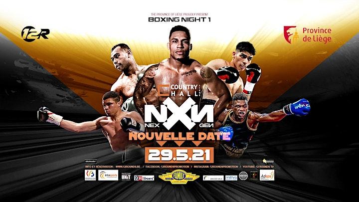Image pour Province de Liège Boxing Night NXN - 29/5/2021 - NOUVELLE DATE