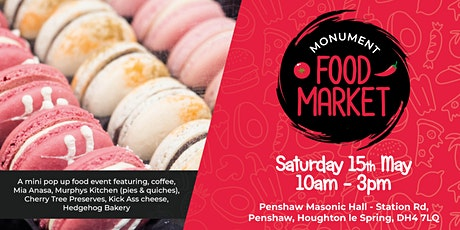Monument Food Market - May tickets
