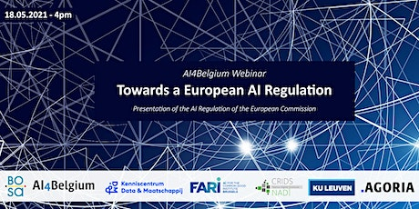 AI4Belgium Webinar: Towards a European AI Regulation tickets
