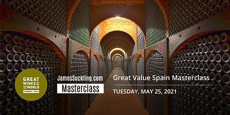 Great Wines of the World Masterclass: Great Value Spain Masterclass tickets