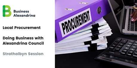Drop in Session - Procurement Doing Business with Council - Strathalbyn tickets