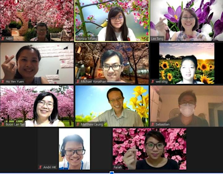 May 2021 Ulu Pandan Toastmasters Chapter Meeting image