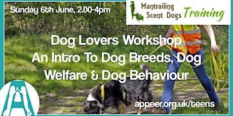 Appeer  Autistic Teens'  Dog Lovers Workshop tickets