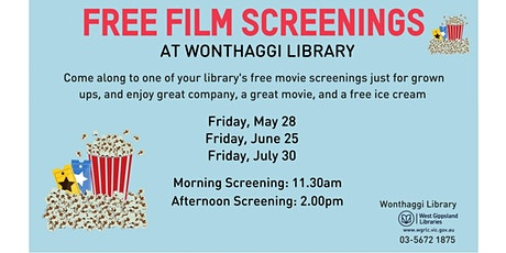 Movies at Wonthaggi Library tickets