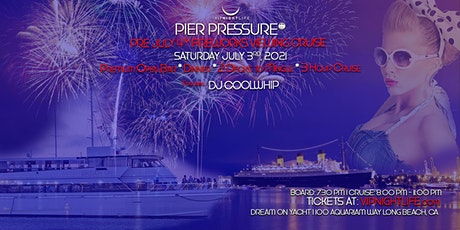 Long Beach Pre-July 4th Under the Fireworks Cruise tickets