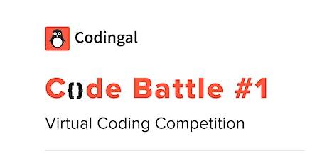 Code Battle #1 tickets
