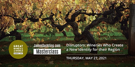 Great Wines of the World Masterclass: Disruptors tickets