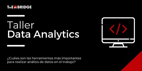 Taller: Introducción a Data Analytics boletos