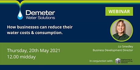 Lets Talk: How businesses can reduce their water consumption and costs. tickets