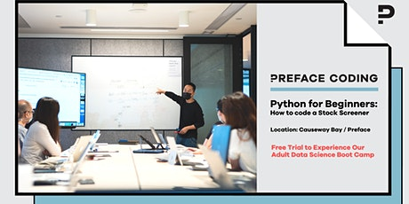 Stock Analysis with Python Basics | Free Coding Class Trial tickets