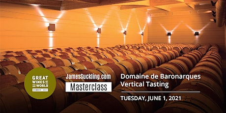 Great Wines of the World Masterclass: Domaines de Baronarque Masterclass tickets