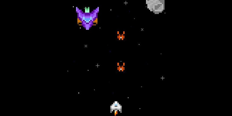 Retro-Arcade Space Shooter
