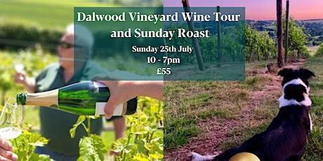 Dalwood Vineyard Tour & Sunday Roast tickets