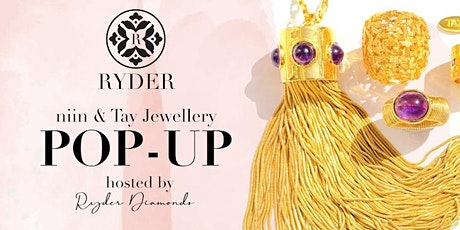 A glamorous, TWO-DAY Pop-Up by TAY and niin Jewellery tickets