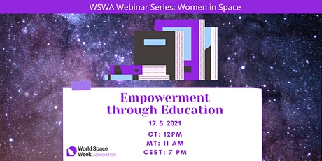 WSWA Webinar Series: Women in Space | Empowerment through Education tickets