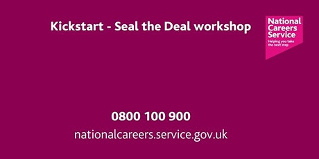 Kickstart - Seal the Deal  - Leeds, York & North Yorkshire tickets