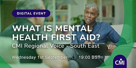 What is Mental Health First Aid? tickets