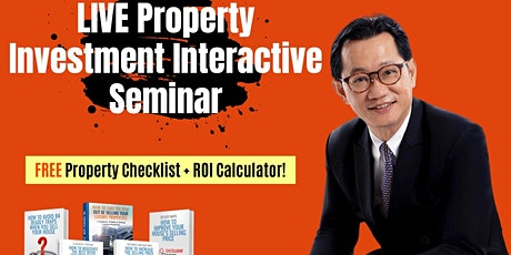 ***[FREE Physical Property Investing MASTERCLASS by Dr Patrick Liew!]* tickets