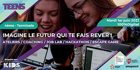 Startup For Teens / 100% Digital - Nouvelle Aquitaine billets