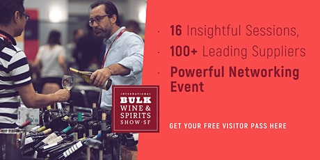 2021 International Bulk Wine and Spirits Show (Visitor Registration) tickets