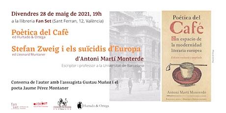 Presentació Antoni Martí Monterde. Amb Gustau Muñoz i Jaume Pérez Muntaner tickets