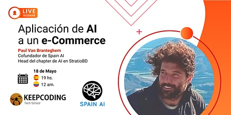 Webinar: Aplicación de Inteligencia Artificial a un e-Commerce boletos