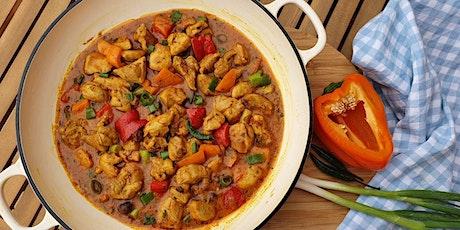 Chicken Jalfrezi with Paneer Naan tickets