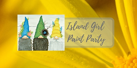 Island Girl Paint Party at SAAL Brewery tickets