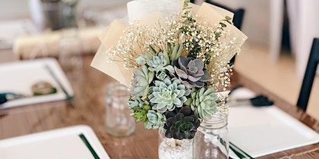 Succulent Bouquet by Echevaria.co tickets