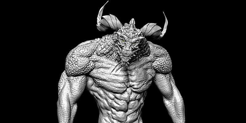 Character Creature Sculpting