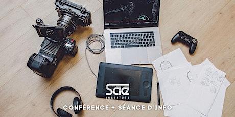 """Conférence """"L'avenir des industries créatives"""" et Séance d'information tickets"""