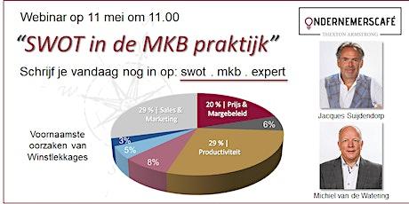 Online Ondernemerscafé 'SWOT in de MKB praktijk' tickets