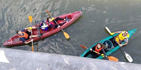 Naar plastic vissen met Canal it up! / Fishing for plastic with Canal it up tickets