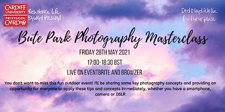Bute Park Photography Masterclass tickets