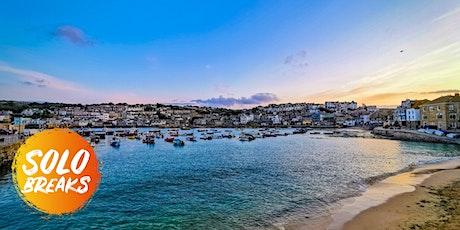 SOLO BREAKS: St Ives 5 Day Beach & Sightseeing Break 06/09/2021 tickets