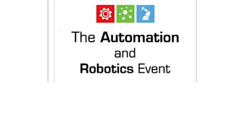 Automation and Robotics Event tickets