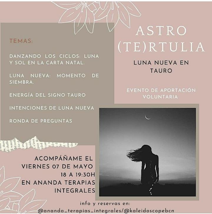 Imagen de Astro Tertulia Luna nueva en Tauro - Astrología Psicológica