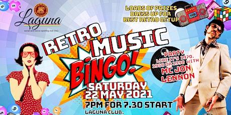 Retro Music Bingo tickets