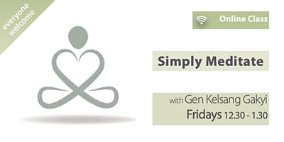 Simply Meditate (Fridays 12.30pm)