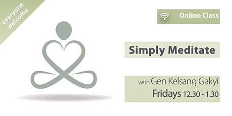 Simply Meditate (Fridays 12.30pm) tickets